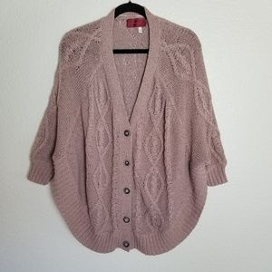 Anthropologie | Left on Houston Taupe Sweater